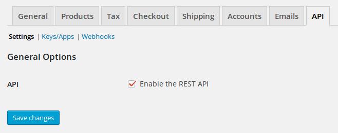 REST API – Develop WooCommerce