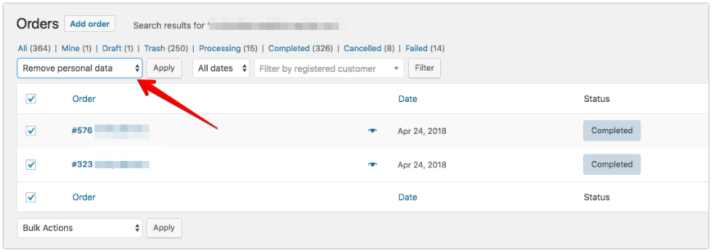 WooCommerce 3 4 GDPR features – Develop WooCommerce